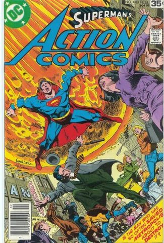 Action Comics 480 Amazos Big Breakthrough