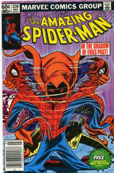 The Amazing Spider Man Vol. 1 238 Shadow Of Evils Past!