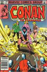 Conan The Barbarian Vol. 1 146 Night Of The Three Sisters