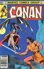 Conan The Barbarian Vol. 1 147 Tower Of Mitra