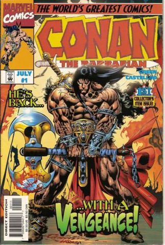 Conan The Barbarian Vol. 2 1 Stalker In The Woods Part I   The Stalker Lives!