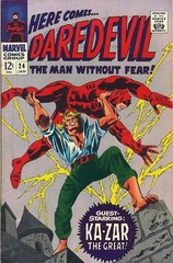 Daredevil Vol. 1 24 The Mystery Of The Midnight Stalker!
