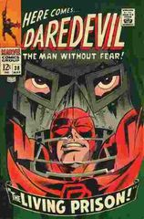 Daredevil Vol. 1 38 The Living Prison!
