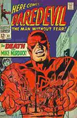 Daredevil Vol. 1 41 The Death Of Mike Murdock!