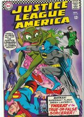 Justice League Of America Vol. 1 49 Threat Of The True Or False Sorcerer