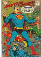 Justice League Of America Vol. 1 63 Time Signs A Death Warrant For The Justice League