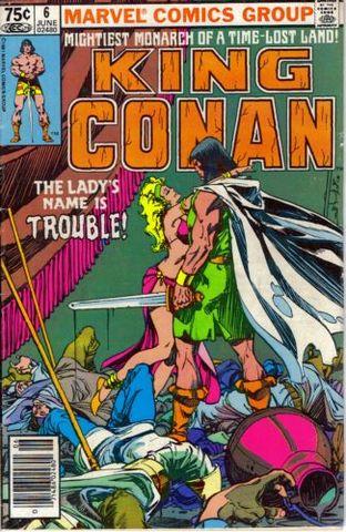 King Conan / Conan The King 6 Vengeance From The Desert