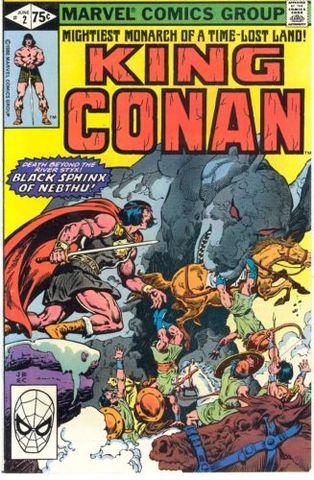 King Conan / Conan The King 2 The Black Sphinx Of Nebthu