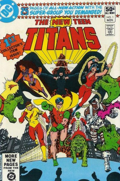 The New Teen Titans Vol. 1 1 A The Birth Of The Titans