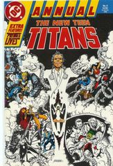 The New Teen Titans Vol. 2 Annual 4 Whom The Gods Must Destroy...