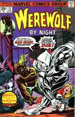 Werewolf By Night Vol. 1 32 The Stalker Called Moon Knight