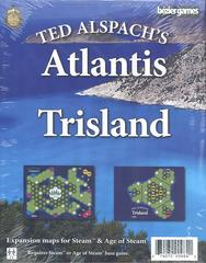 Age of Steam Expansion: Atlantis & Trisland