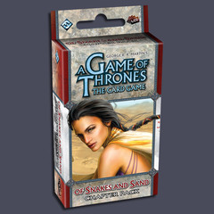 A Game of Thrones: The Card Game - Of Snakes and Sand