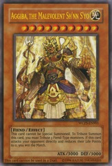 Aggiba, the Malevolent Sh'nn S'yo - WCPS-EN901 - Ultra Rare