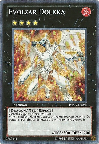 Evolzar Dolkka - PHSW-EN086 - Secret Rare - 1st Edition