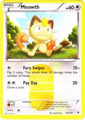 Meowth - 102/101 - Secret Rare - Reverse Holo