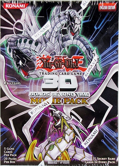 3D Bonds Beyond Time Move Pack Booster Box