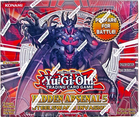 Yu-Gi-Oh Hidden Arsenal #5 1st Edition Booster Box