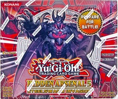 Yu-Gi-Oh Hidden Arsenal 5 1st Edition Booster Box