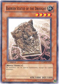 Barrier Statue of the Drought - CDIP-EN022 - Common - 1st Edition