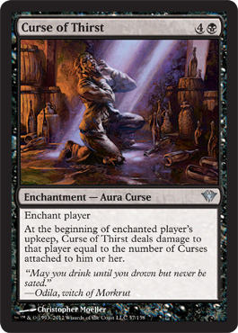 Curse of Thirst - Foil