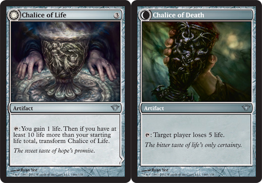 Chalice of Life // Chalice of Death - Foil