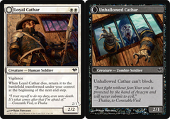 Loyal Cathar // Unhallowed Cathar