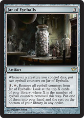 Jar of Eyeballs - Foil