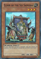 Elder of the Six Samurai - SAAS-EN001 - Super Rare - Limited Edition