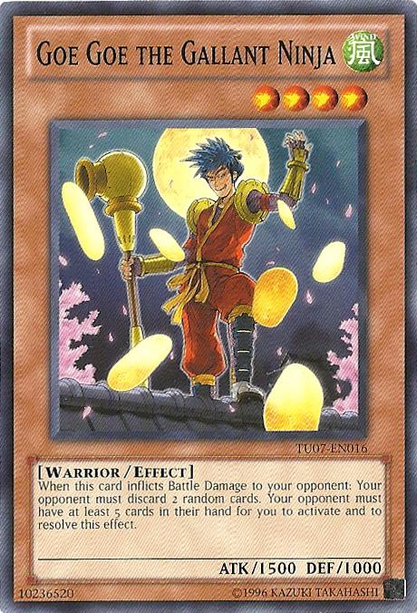 Goe Goe the Gallant Ninja - TU07-EN016 - Common - Unlimited Edition