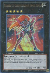 Number 12: Crimson Shadow Armor Ninja - ORCS-EN042 - Ultra Rare - 1st Edition