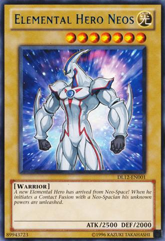 Elemental Hero Neos - Blue - DL12-EN001 - Rare - Promo Edition