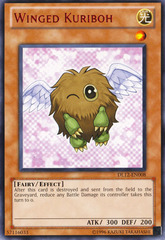 Winged Kuriboh - Red - DL12-EN008 - Rare - Unlimited Edition