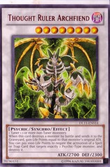 Thought Ruler Archfiend - Red - DL11-EN014 - Rare - Promo Edition