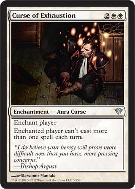 Curse of Exhaustion - Foil
