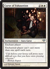 Curse of Exhaustion - Foil