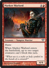 Markov Warlord - Foil on Channel Fireball