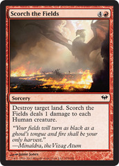 Scorch the Fields - Foil