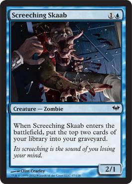 Screeching Skaab - Foil