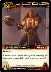 Scarlet Commander Renault Mograine
