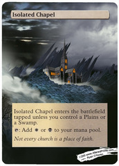 Isolated Chapel - Altered