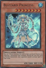 Blizzard Princess - YG07-EN001 - Ultra Rare