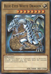 Blue-Eyes White Dragon - SDDC-EN004 - Common - 1st Edition