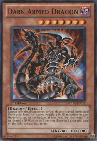Dark Armed Dragon - SDDC-EN012 - Common - 1st Edition