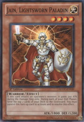 Jain, Lightsworn Paladin - SDDC-EN020 - Common - 1st Edition