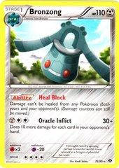 Bronzong - 76/99 - Rare on Channel Fireball
