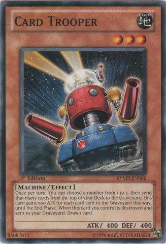 Card Trooper - RYMP-EN006 - Common - 1st Edition