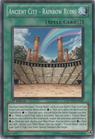 Ancient City - Rainbow Ruins - RYMP-EN053 - Common - 1st Edition