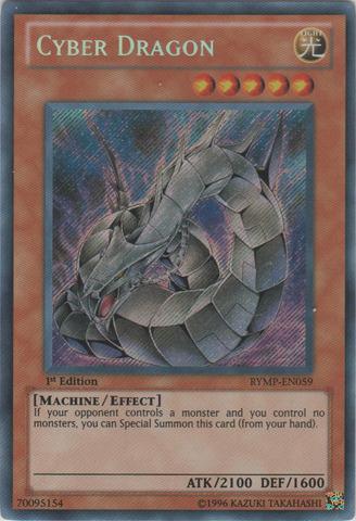 Cyber Dragon  - RYMP-EN059 - Secret Rare - 1st Edition