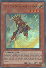 The Six Samurai - Zanji - RYMP-EN092 - Ultra Rare - 1st Edition